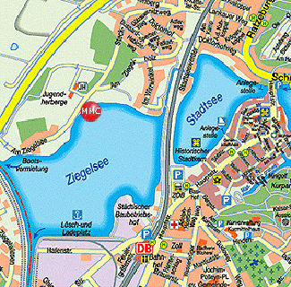 Lageplan (Ziegelsee NW)